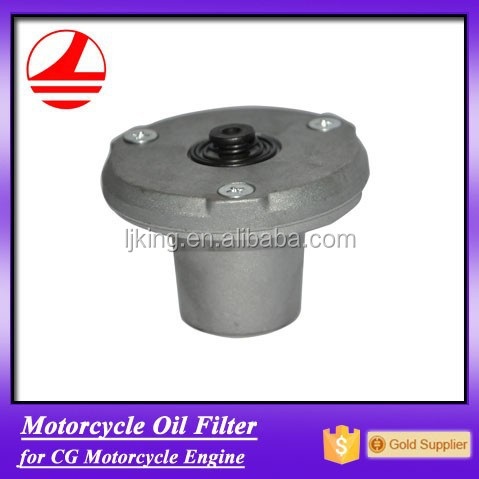 Quality factory oil filter for CG motorcycle engine oil