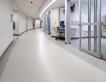 Homogenous Antibacterial Hospital Vinyl Flooring Static Dissipative Conductive Pvc Sheet