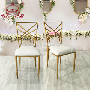 Metal frame wholesale party event banquet bridal chairs