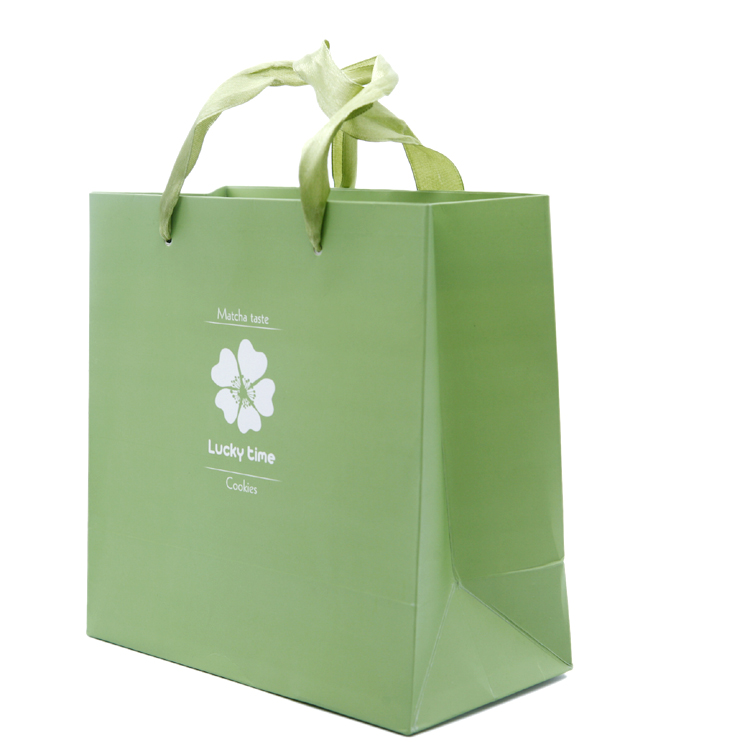 Jewelry Gift Craft Paper Bags Custom Printed Paper Bag For Packaging
