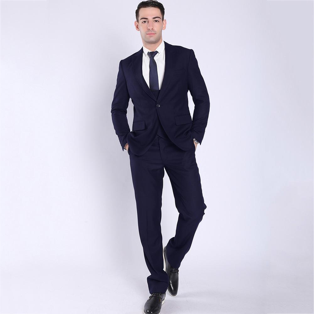 Slim Fit 3 Piece Coat Pant Men Suit For Wedding - Buy Formal Pant ...