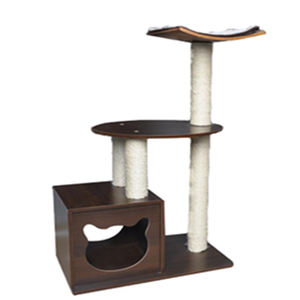 Luxury Cat Tree Scrather Modern Cat Furniture Bed With Cat Lounge