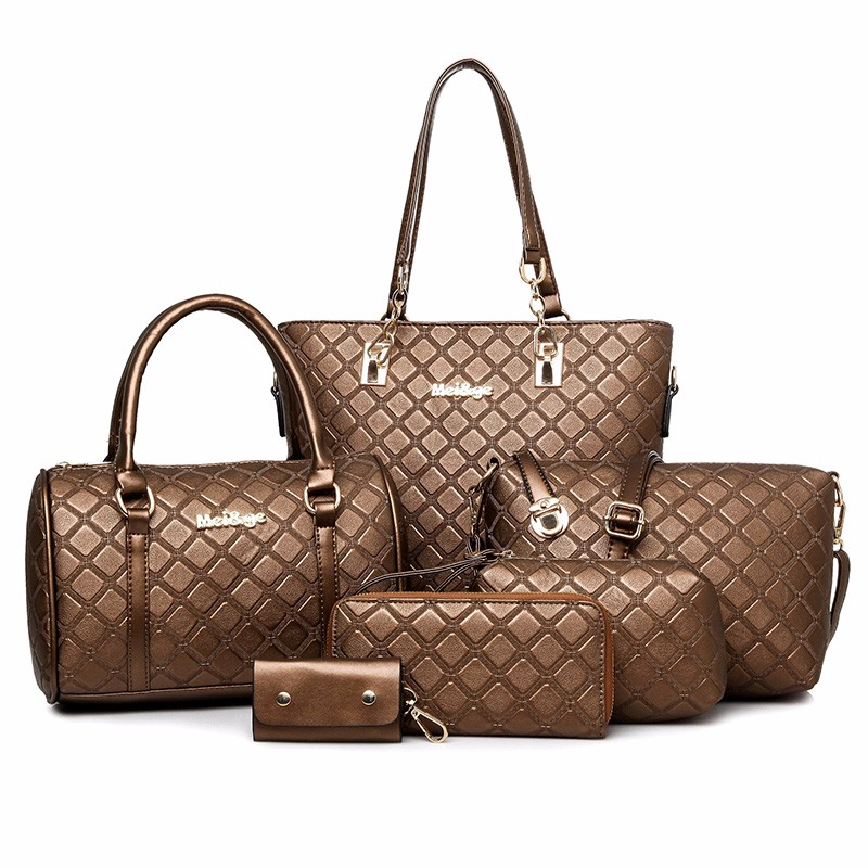 2017 Hot Ing Hand Bag 6 In 1 Set Whole Designer Lady Bags