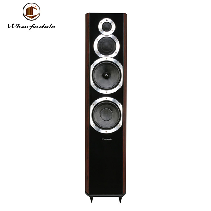 Factory Price Wharfedale Diamond 10.7 Home Theater Sound System Rose Wood Active Tower Speaker