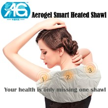 2017 hot selling Far Infrared smart massage shawls breathable mesh fabric For women