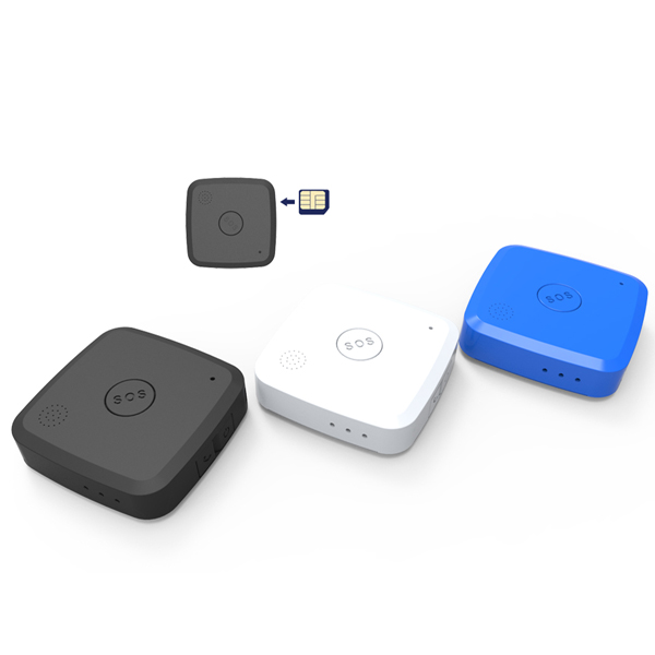 Support 2G Net Based on Google Map Compact GSM GPS Tracker