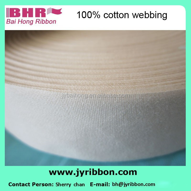 China 100% Cotton bias tape for Garment accessories