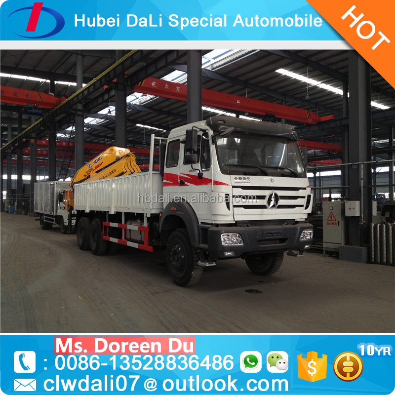 Novel Item 16 ton lorry crane for sale