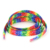 Wholesale Bright-Colored Custom Printed Logo Rainbow Fashion LED Flashing Shoelaces
