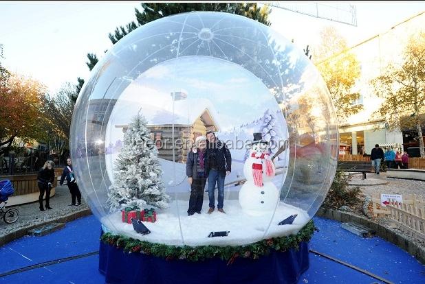 Cheap Christmas Snow Ball/giant Christmas Inflatable Snow Globe ...