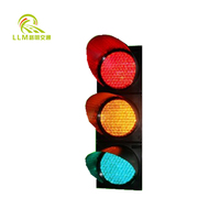LED traffic timer counting signals