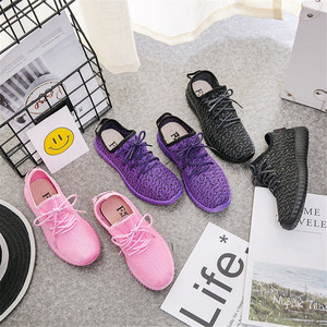 Cheap Women Casual Shoes Female Candy Color Cloth Breathable Sports Shoes