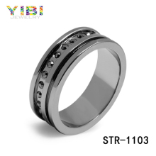 Surgical grade stainless steel rings Fashion Custom Stainless Steel Jewelry Ring