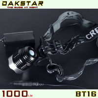 DAKSTAR BT16 1000LM High Quality Aluminum Rechargeable High Power LED Mountain Bike Light With CREE