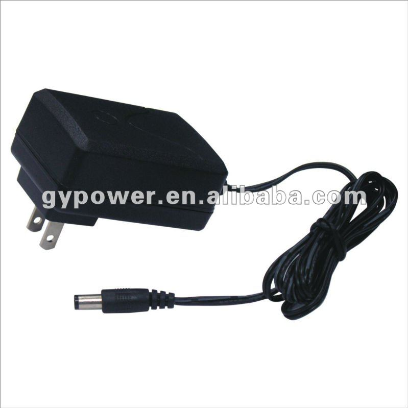 24V, 1A Switching Adapter with UL/Cul PSE GS CE BS SAA CCC KC-Mark FCC VCCI CE/EMC C-Tick