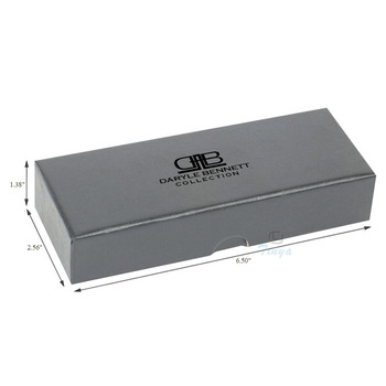 black electronic gift wrap box for pen