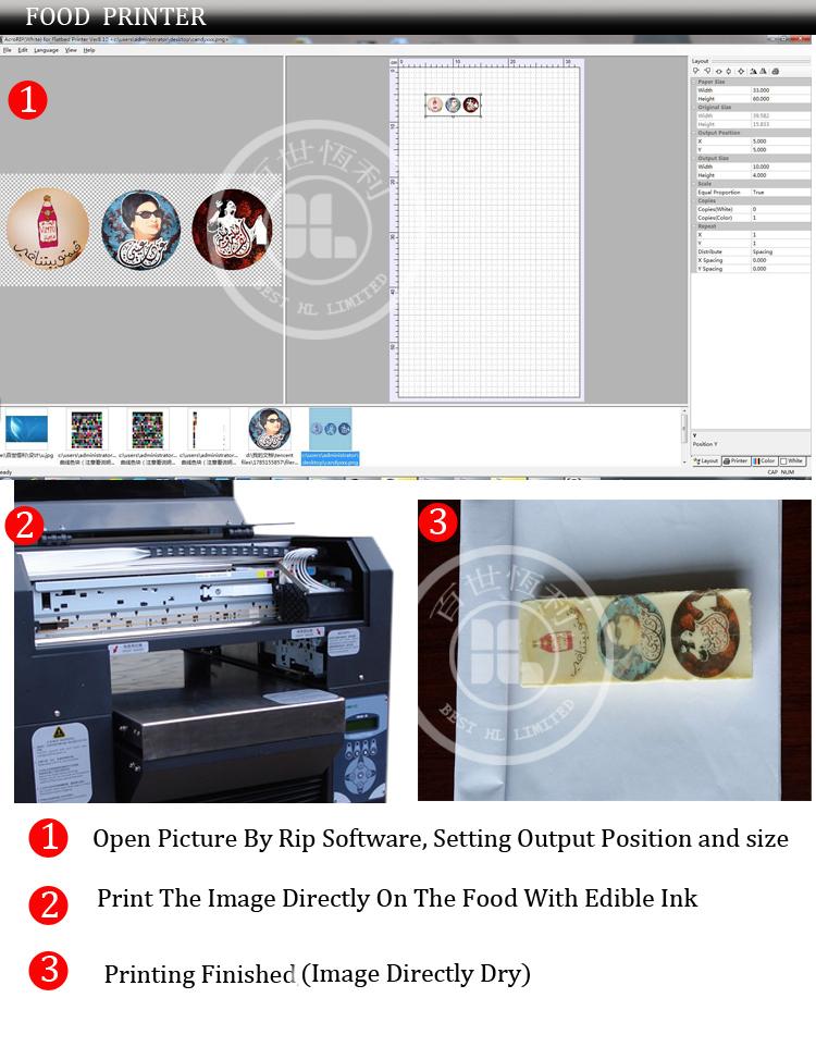 Digital World Food Printer,Food Printing Machine With Food ...