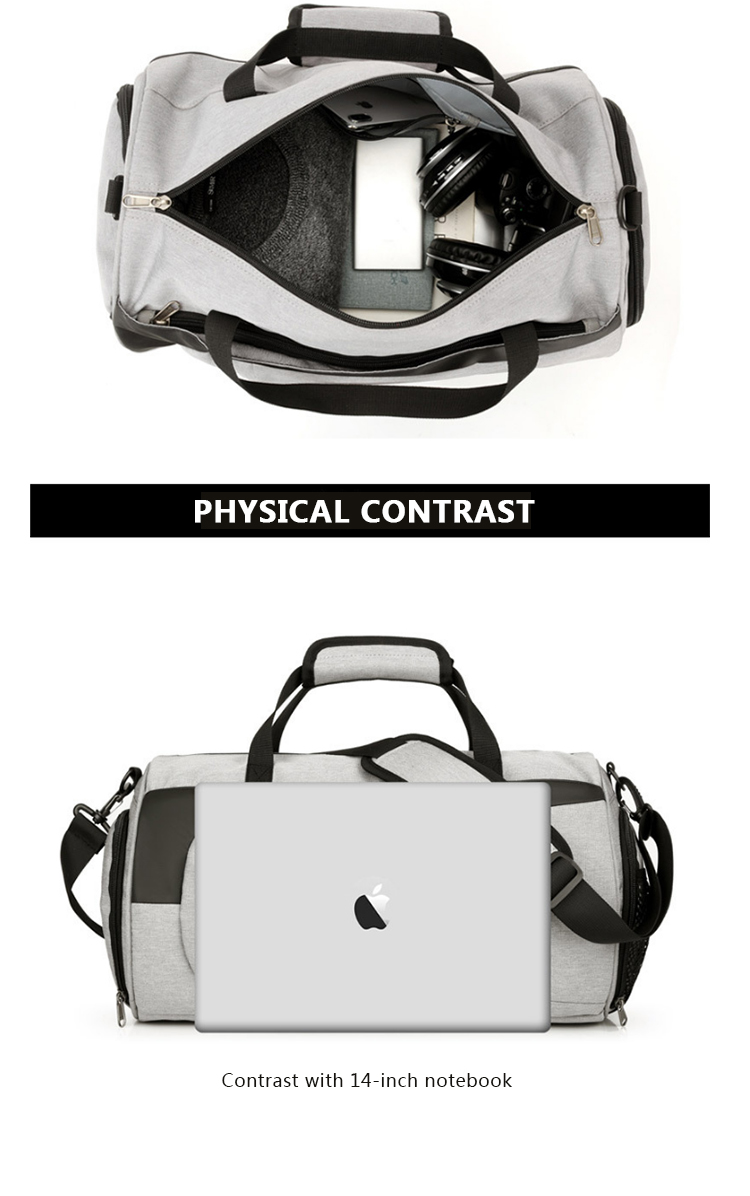 Factory OEM Customized Outdoor  High Quality Travel Gym Bag  Sport Bag