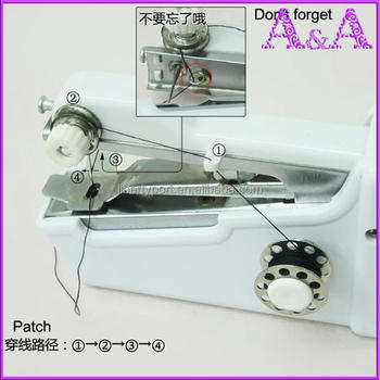 Handy Use Portable Hand Stitch Mini Household Sewing Machineclothes Mesmerizing Handy Stitch Hand Sewing Machine