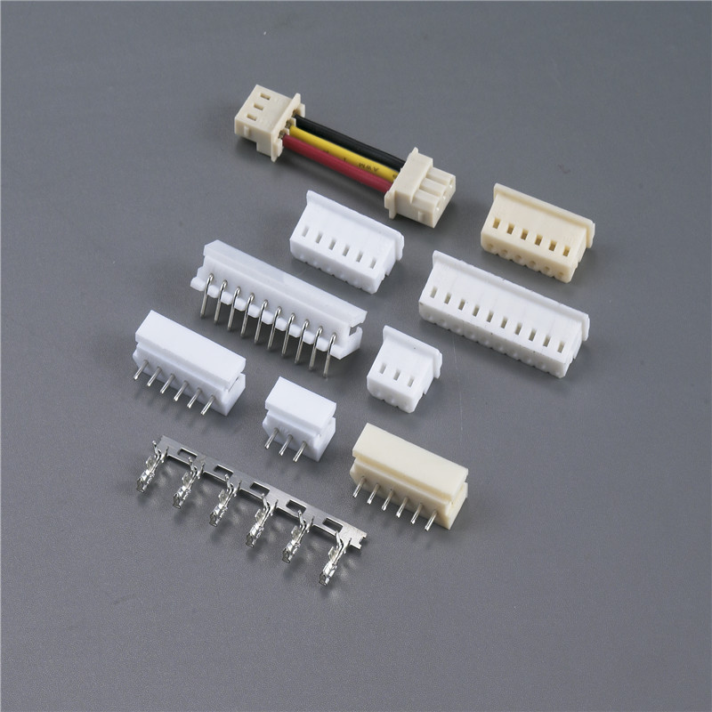 50 SETS JC20 2mm 2 Pin Pitch Connector with crimp terminal wire to PCB Computer