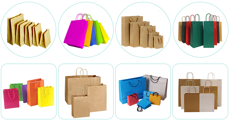 Wholesale Custom Printed Logo Art paper Gift Shopping Paper Bag