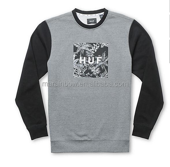 Fashion Wholesale Crewneck Sweatshirt With Custom Logo Printed For ...