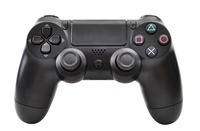 wireD or wireless bluetooth game controller joystick gamepad similar to the ariginal for PS4