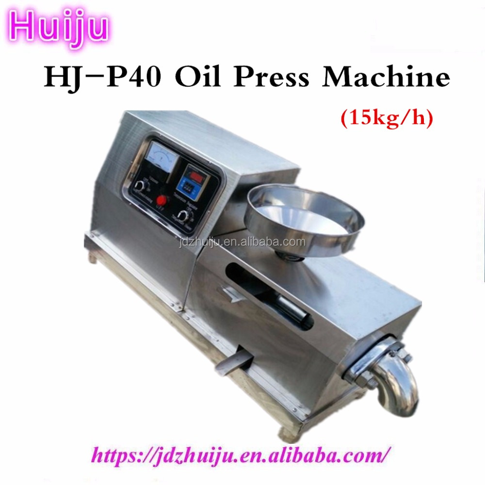 small coconut oil extraction machine fully automatic commercial oil press machine/oil presser HJ-P40