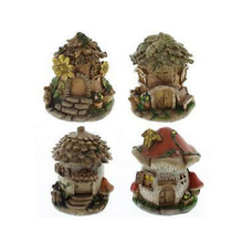 Miniature Fairy Garden House Yard Ornament