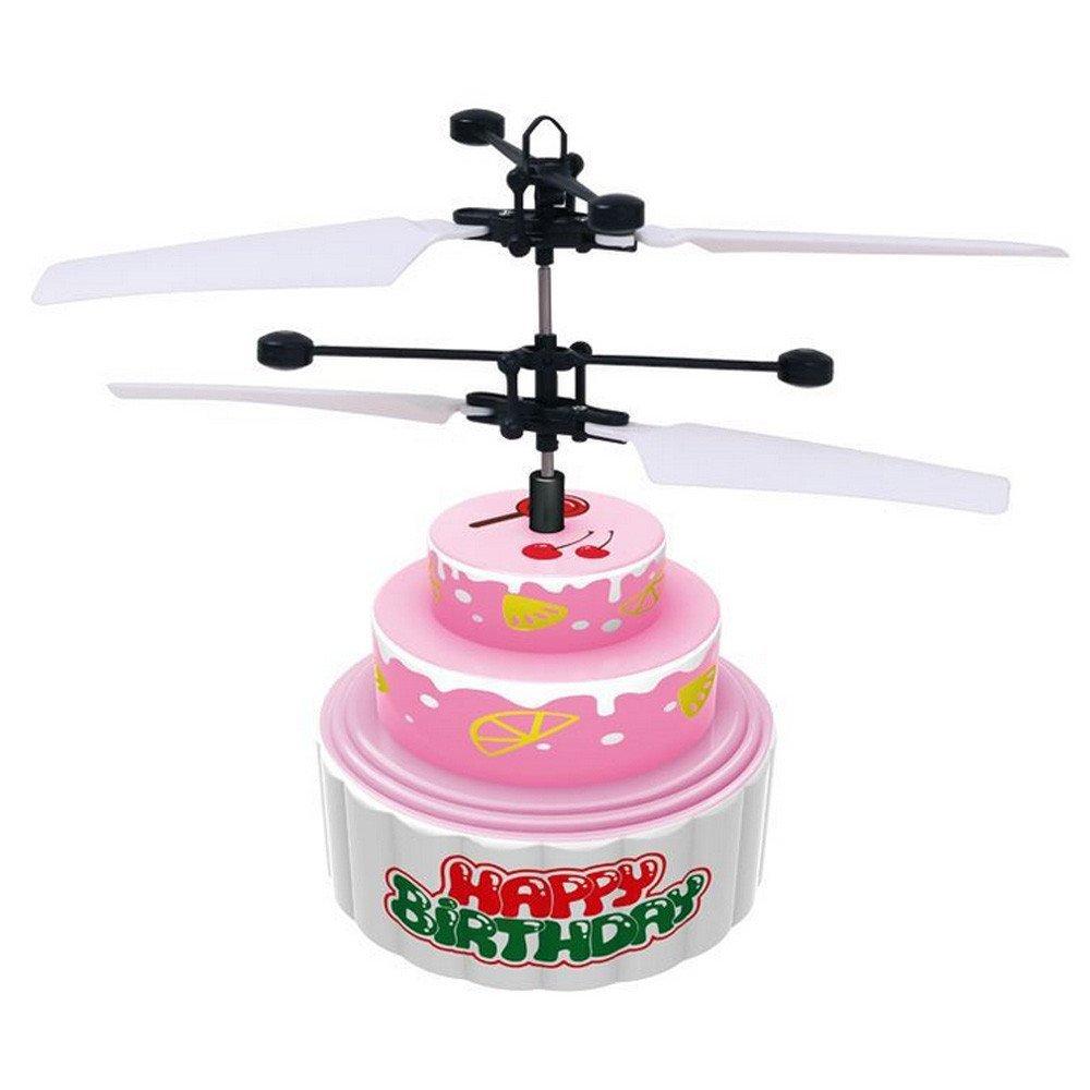 Toys & Hobbies Light-up Toys Poop Shaped Flying Hovering Ufo Infrared Sensor Flying Saucer Hand Induced Hovering Floating Flight Fantastic Led Kids Toys