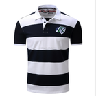 2017 Super quality fashion striped polo men with low price