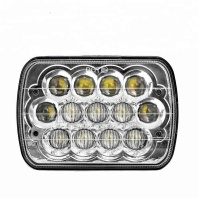 High Quality 7inch 5D 45W LED Work Light Bar For Car Auto Motorcycle Boat Tractor Truck Atmosphere Lamp