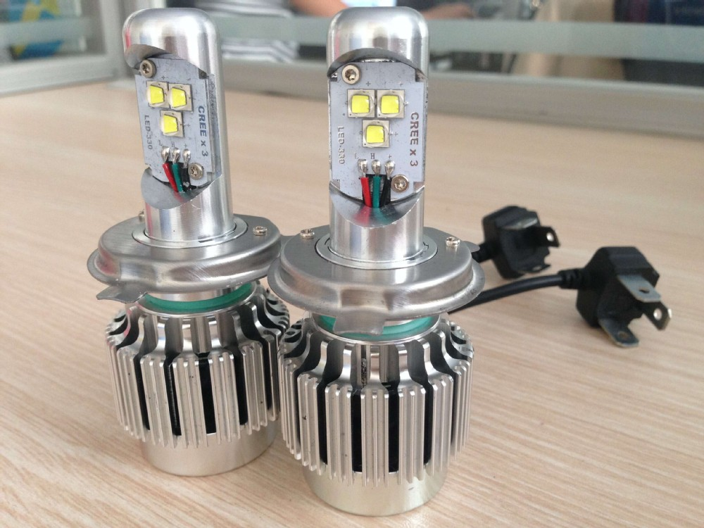 All-in-one Canbus Cree Led Light Car Bulbs 30w 3200lm H4h/l H7 H11 ...