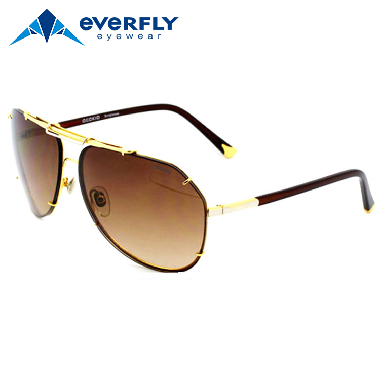 OEM classical polarized aviator city vision sunglasses mirror polarized lens stainless aviator sunglasses