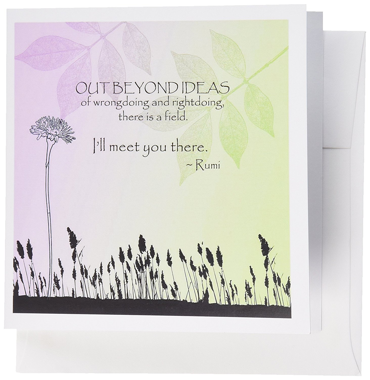 Buy 3drose Out Beyond Ideas Rumi Quotes Inspirational Art