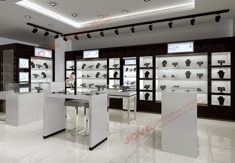 Matel 3d Interior Design Ideas Jewellery Shops Jewel Display Cabinet