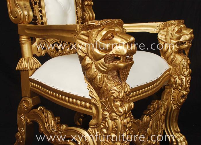 European quality antique king chair, king chair, lion king chair XYM-H96 - European Quality Antique King Chair,King Chair,Lion King Chair Xym