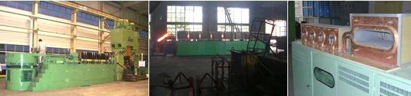 2500KW 3000HZ Industrial induction Furnace Heating Other Metals Steel pipe Billets