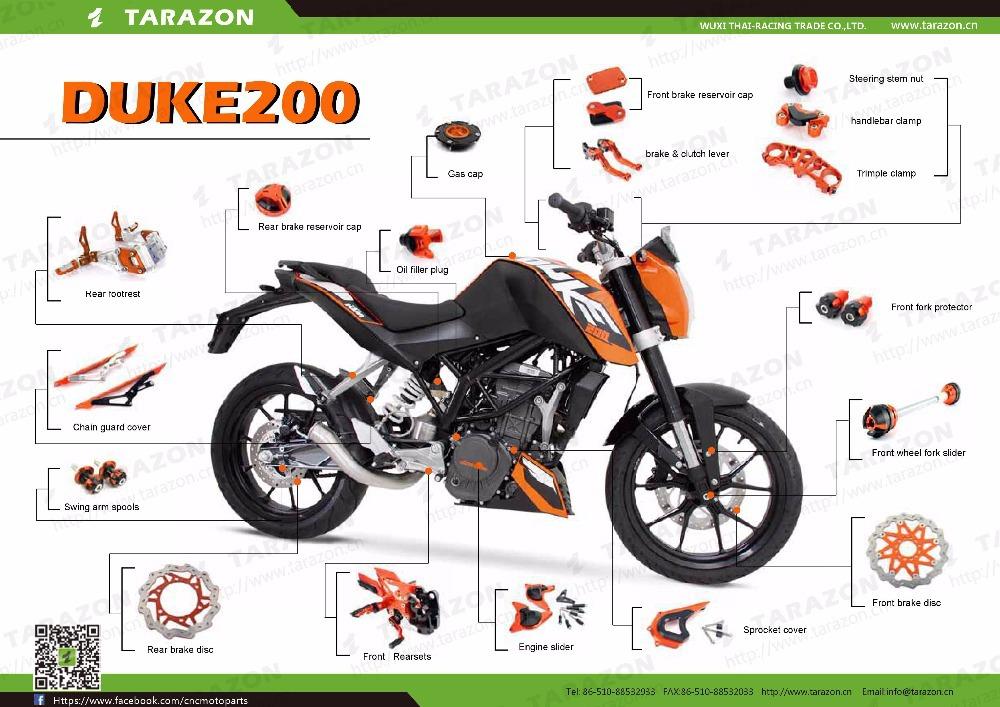 Ktm Duke Spare Parts List
