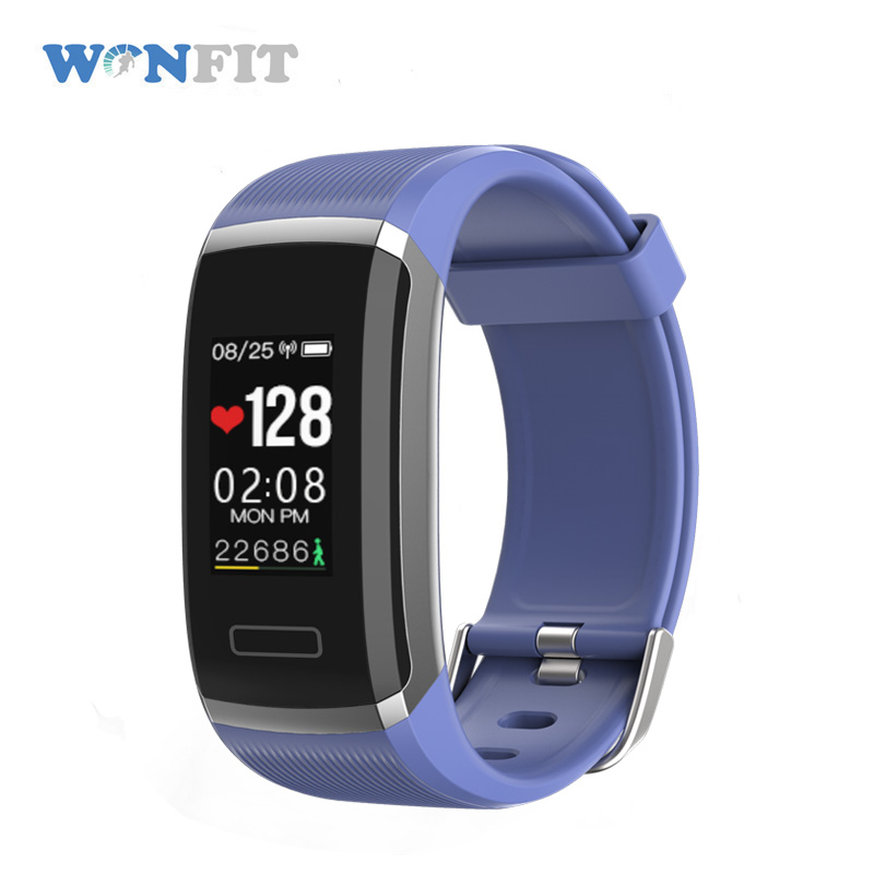 Sport activity tracker bracelet Bluetooth 4.0 women WIFI 4g gold wrist watch mp3 player dayday band