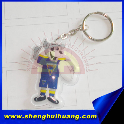 Special led fashion keychain,can be custom logo and shape,popular for people to carry,Shenzhen manufacturer
