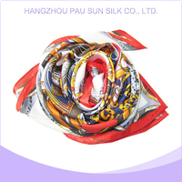 Factory direct sale hot muslim women scarf silk