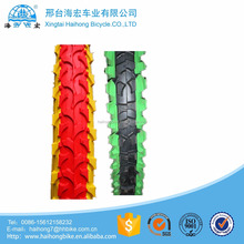 China customized durable colored mtb tyre type/oem mountain bicycle tire