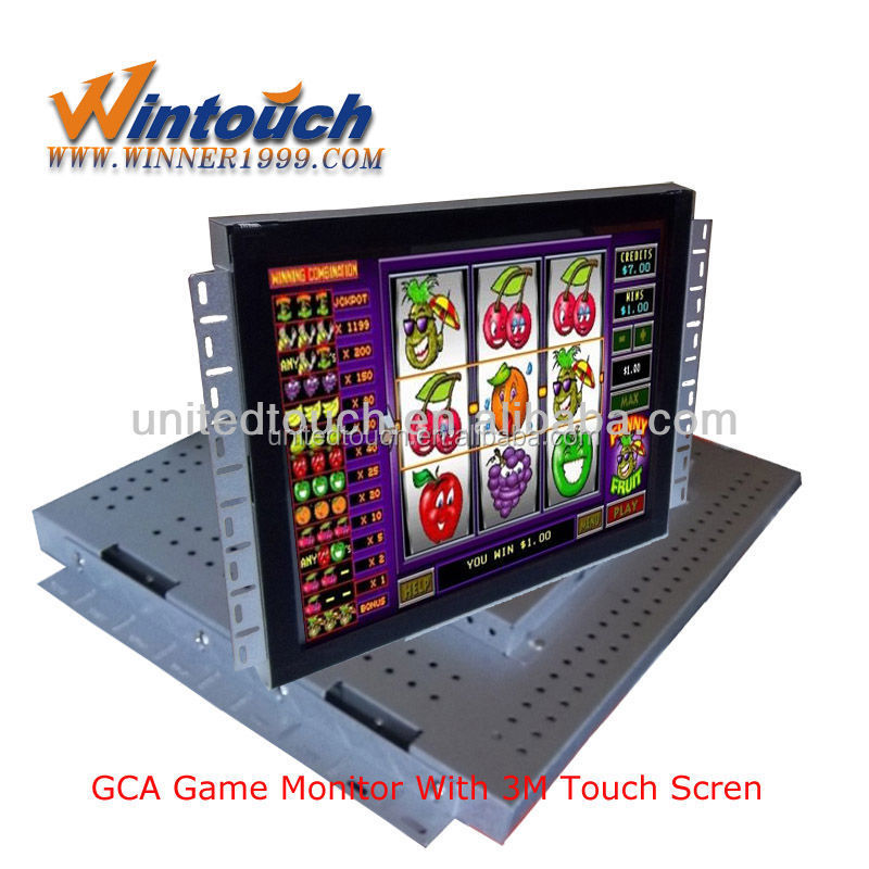 gambling machine touchscreen /gambling machines for sale/ game monitors