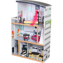 DH604 2018 NEW DIY cute mini kids wooden toy doll house of sweet home