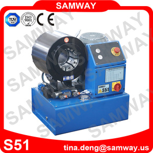 CE multi dimension new products classical hose crimping machine/crimper SAMWAY S51