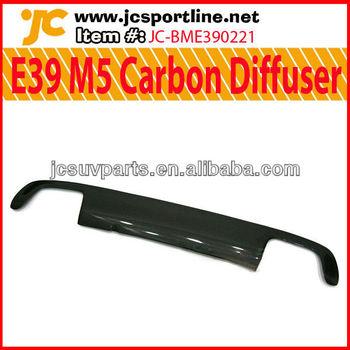 For Bmw E39 M5 Rear Diffuser Carbon Fiber E39 Lip Diffuser