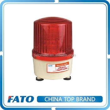 Fato Lte-5121 12v 24v 110v 220v Red Led Traffic Warning Light ...