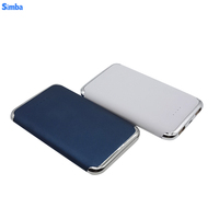 8000 mah Power Bank External Battery QI Powerbank 2 USB LCD Display Portable Mobile Phone Charger for Phone