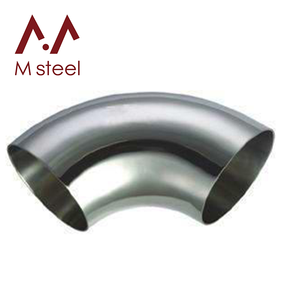 Ss304 Ss316l 60 Degree 4 Inch Stainless Steel Pipe Elbow